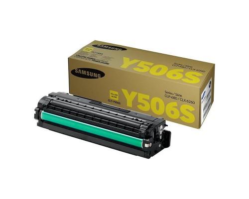 Картридж Samsung CLT-Y506S желтый