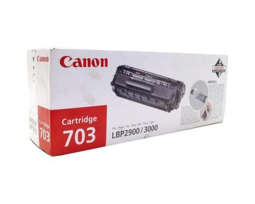 Картридж лазерный Canon 703 7616A005 черный оригинальный