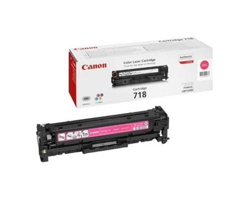 Картридж лазерный Canon 718 2660B002 пурпурный оригинальный