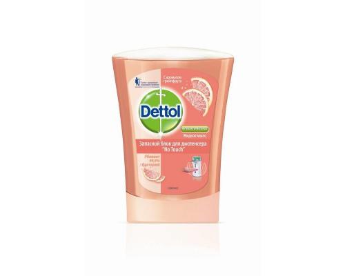 Картридж с жидким мылом DETTOL Грейпфрут (антибактериальное, 250 мл)