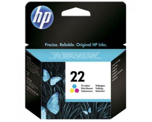 Картридж HP 22 C9352AE для DJ F370/F380/F2180/F4180, цв.