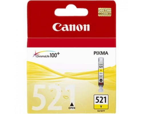 Картридж Canon CLI-521Y (2936B004) для PIXMA iP3600/4600, желтый