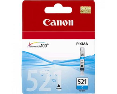 Картридж Canon CLI-521C (2934B004) для PIXMA iP3600/4600, голубой