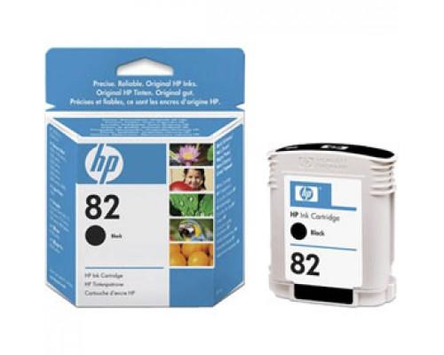Картридж HP 82 CH565A для DesignJet 500/800, чер.