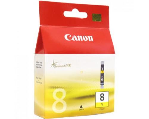 Картридж CLI-8Y для Canon Pixma 4200/5200/MP500/800, желтый