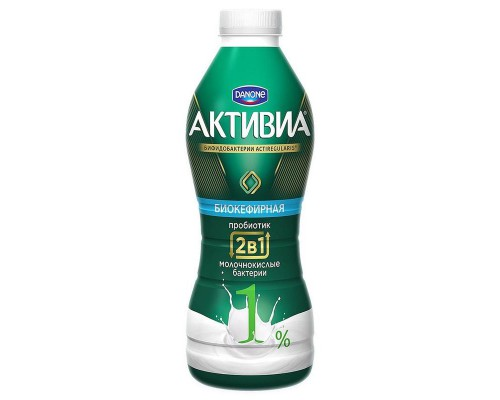 Напиток кефирный Активиа 1% 870 г