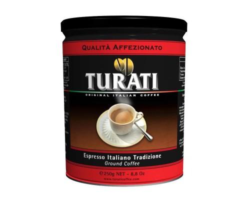 Кофе Turati Affezionato молотый 250 г