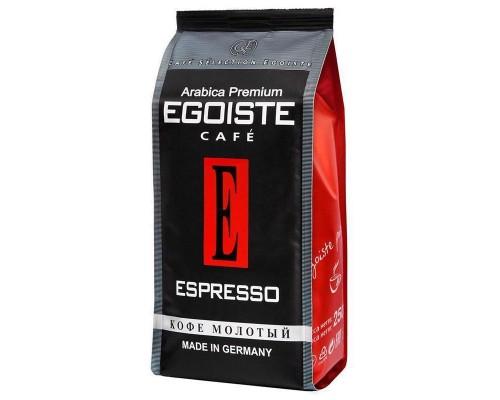 Кофе молотый Egoiste Espresso (250 г, вакуумный пакет)