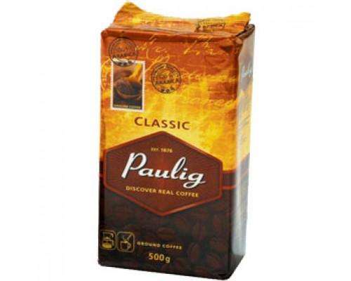 Кофе PAULIG Classic арабика молотый, 500г, вакуумн. упаковка