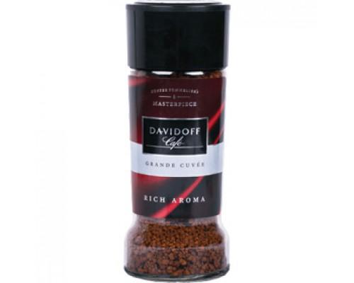 Кофе DAVIDOFF Rich Aroma растворимый, 100г, стекл. банка