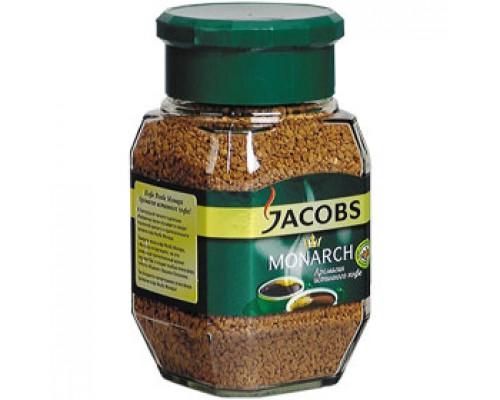 Кофе JACOBS Monarch растворимый, 190г, стекл. банка