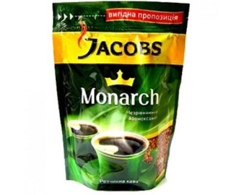 Кофе JACOBS Monarch растворимый, 150г, пакет