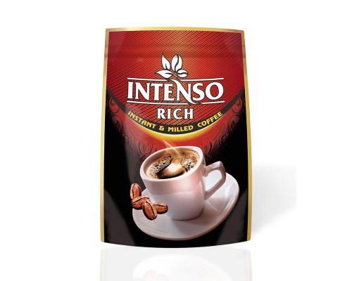 Кофе Intenso Rich сублимированный с добавлением молотого, дой-пак 100 г.
