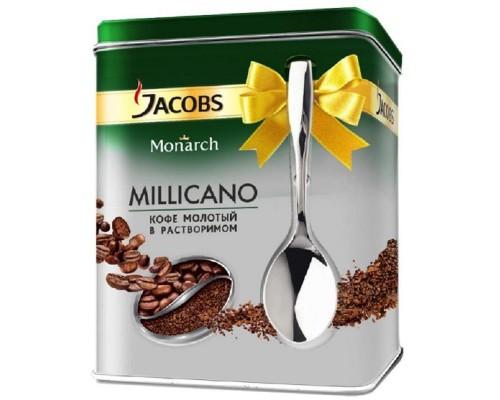 Кофе Jacobs Monarch раств. 75г промо с ложкой