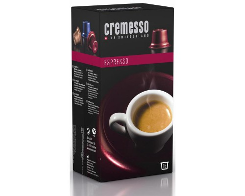 Капсулы для кофемашин Cremesso Espresso (16 штук в упаковке)