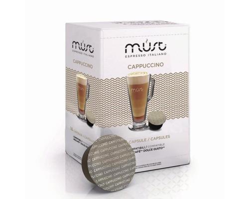 Капсулы для кофемашин Dolce Gusto Must Espresso Italiano Cappuccino (16 штук в упаковке)