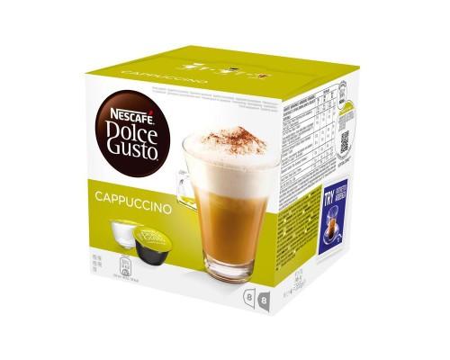Капсулы для кофемашин Nescafe Dolce Gusto Капучино (16 штук в упаковке)