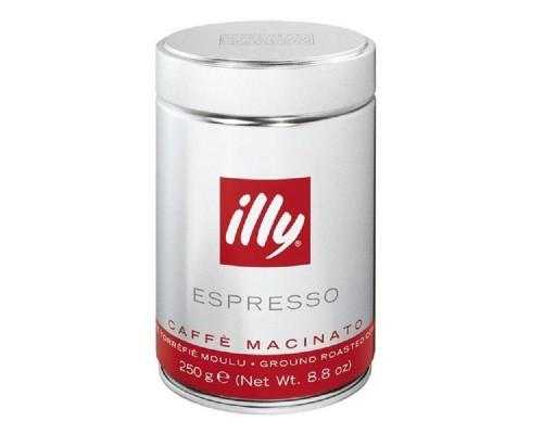 Кофе illy medium молотый, 250г