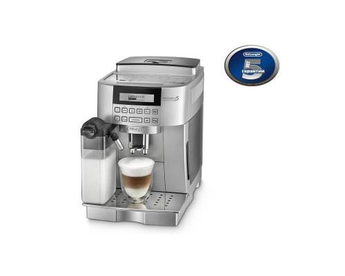 Кофемашина DeLonghi ECAM 22.360 S серебристая