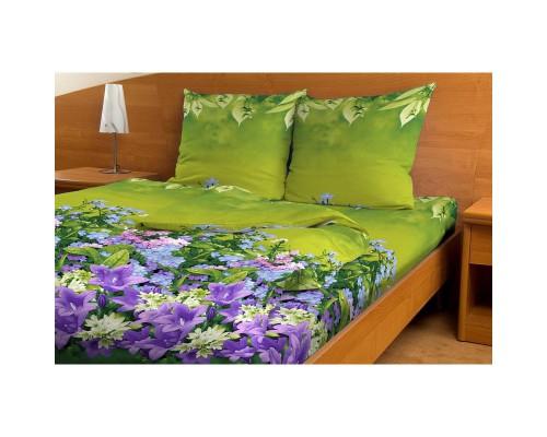 Комплект постельного белья 1.5-спальный бязь Весенние цветы