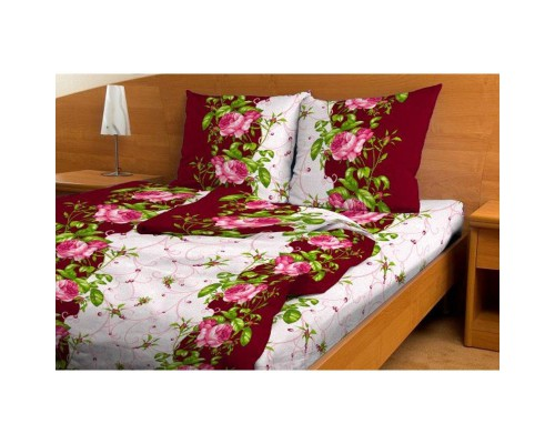 Комплект постельного белья 1.5-спальный бязь Венера