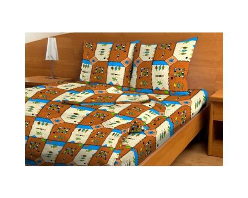 Комплект постельного белья 1.5-спальный бязь Ирбис