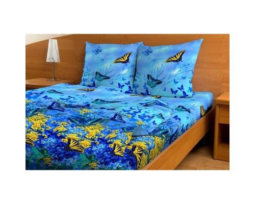 Комплект постельного белья 1.5-спальный бязь Бабочки