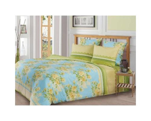 Комплект постельного белья 1.5-спальный бязь Желтые цветы