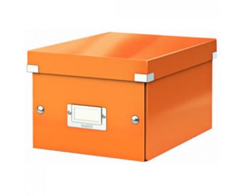 Короб 220х160х282мм LEITZ CLICK-N-STORE, оранжевый
