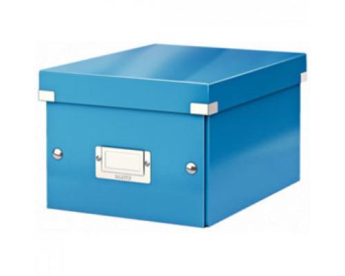 Короб 220х160х282мм LEITZ CLICK-N-STORE, синий
