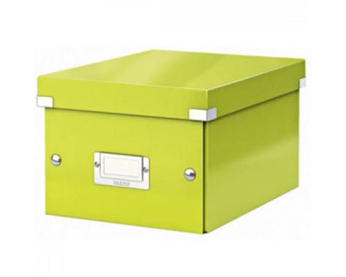 Короб 220х160х282мм LEITZ CLICK-N-STORE, зеленый