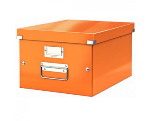 Короб 281х200х370мм LEITZ CLICK-N-STORE, оранжевый