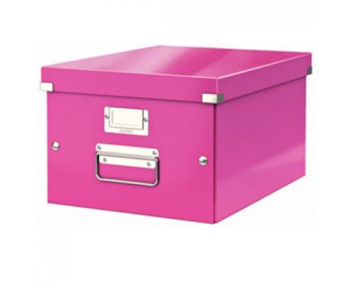 Короб 281х200х370мм LEITZ CLICK-N-STORE, розовый