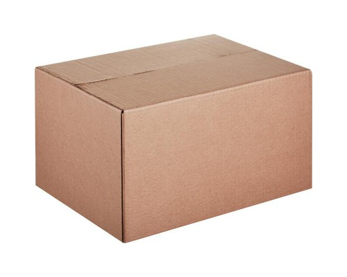 Короб картонный 340х260х200 мм бурый гофрокартон Т-22 профиль B (10 штук в упаковке)