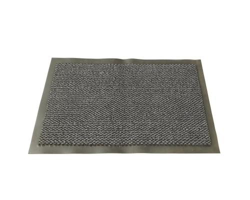 Ковер грязезащитный ворсовый на ПВХ-основе (900х1500х8 мм, серый)