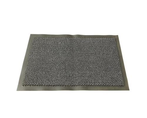 Ковер грязезащитный ворсовый на ПВХ-основе (600х900х5 мм, серый)