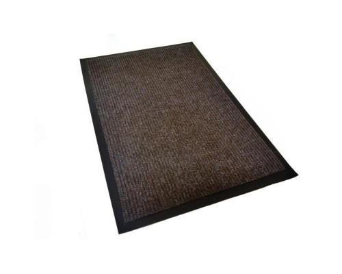 Ковер входной влаговпитывающий КОМФОРТ 60х90 см коричневый