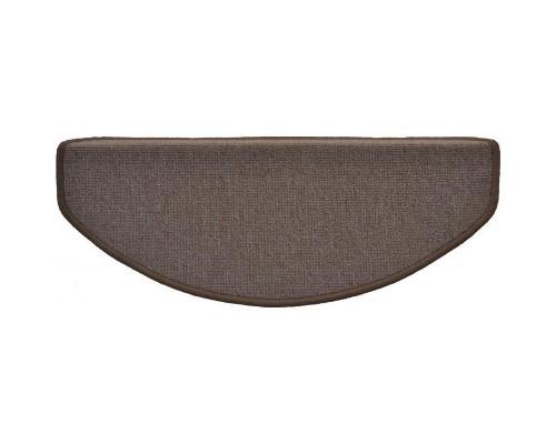 Коврик для лестницы укрепленный клейкий угол (650x250мм,коричневый)