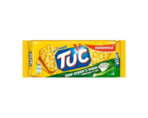 Крекер TUC со вкусом сметаны и лука (100 г)