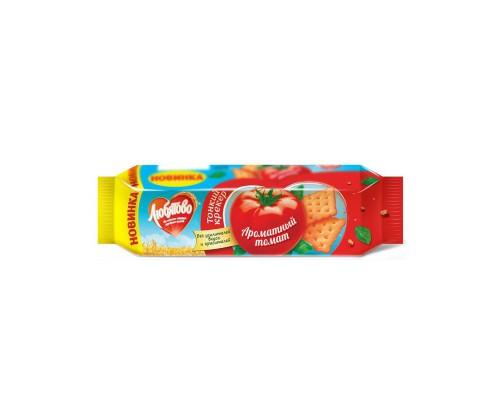 Крекер ароматный томат Любятово 100 г