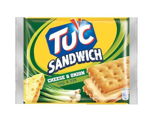 Крекер TUC сэндвич со сыром и луком, 112 г.