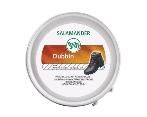 Воск для обуви в банке Salamander Dubbin для гладкой кожи бесцветный 100 мл
