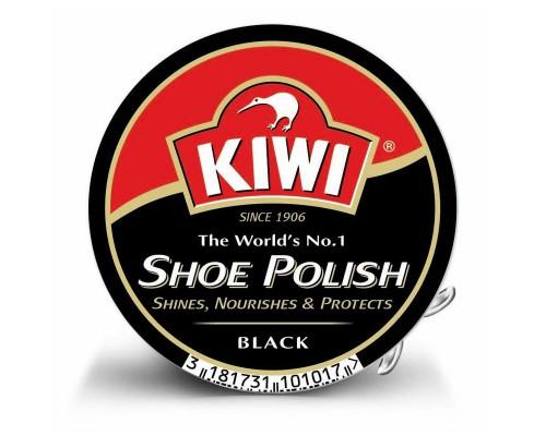 Крем для обуви Kiwi с воском черный 50 мл