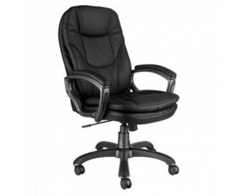 Кресло руководителя с механизмом качания CH-868AXSN, иск. кожа, черный