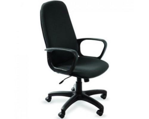 Кресло руководителя с механизмом качания CH-808AXSN, текстиль, черный