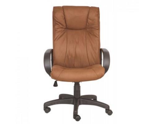 Кресло руководителя с механизмом качания CH-838AXSN, нубук, коричневый