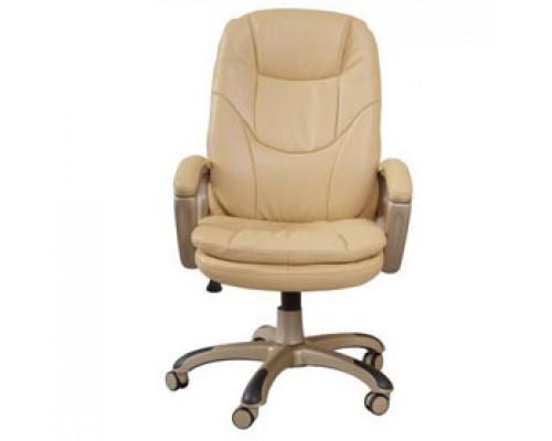 Кресло руководителя с механизмом качания CH-868AXSN, иск. кожа, бежевый