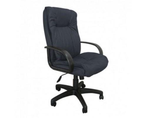 Кресло руководителя с механизмом качания CH-838AXSN, микрофибра, черный