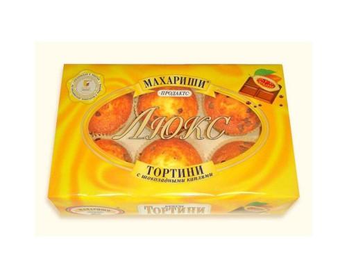Кекс Махариши Тортини с шоколадными каплями 200 г
