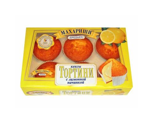 Кекс Махариши Тортини с лимонной начинкой 200 г